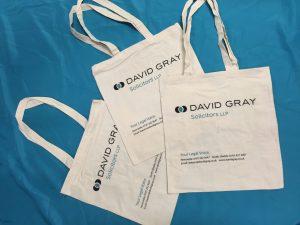 David Gray Solicitors Canvas Bags