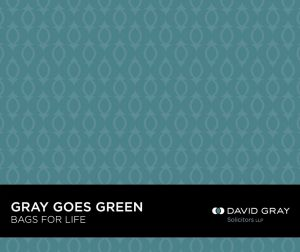 David Gray Solicitors Bag For Life Newcastle Upon Tyne & South Shields