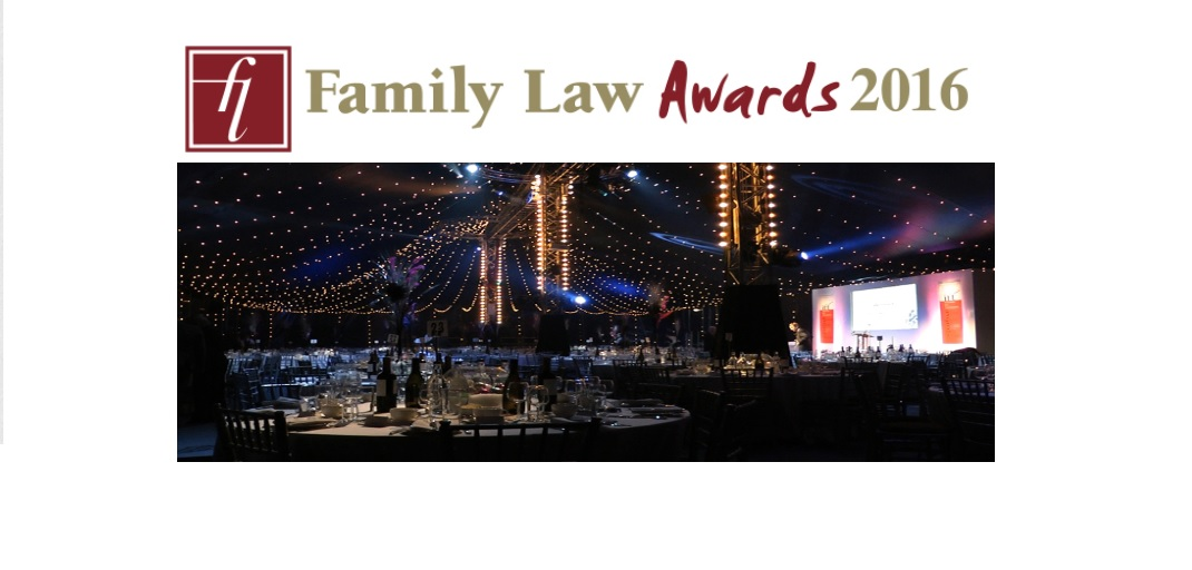 We're shortlisted for Family Law Awards 2016