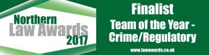 Crime finalist logo