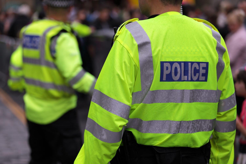 police in high vis